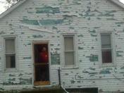 MIneola Iowa Hail storm. Hits cars homes and riders on the Taco ride