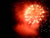 Airborne speedway Fireworks Gone wrong..