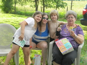 Mothers Day at the Peacy home 2012