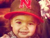 Savanna is ready for football season GBR!