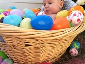 Elayna's first Easter!