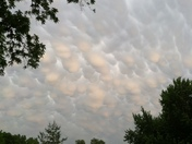 Crazy looking clouds