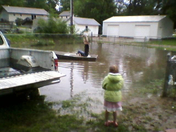 Worley's Flooded Yard