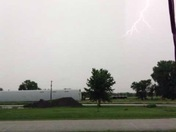 Lightning in Morse Bluff, NE