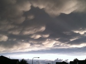 Hail Clouds Over Gretna