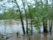 Illinois River Bridge Flooding