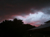SunSet Under the Storm 6/14/13