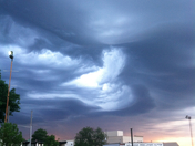 the most amazing cloud formation I have ever seen