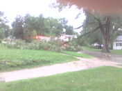 tree down and power outage