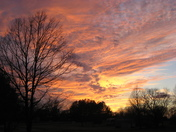 Beautiful January Sunset 01-16-12