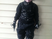 Edward Scissor Hands-my grandson