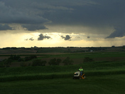mowing & storms