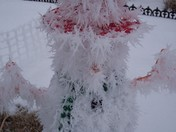 Frosty the Ice man?