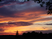 Sunset Memorial Day, Anthon IA