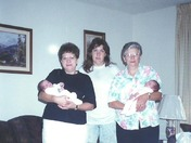 4 generations of moms!