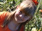 Alana in the Pumpkin Patch