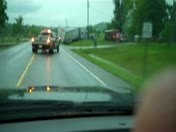 Semi Accident on Hwy 62
