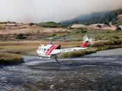 CDF Chopper 406 filling with water