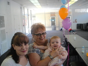 Me my mom and daughter