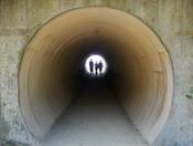 Tunnel at Julia Pfeiffer Burns State Park