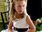 Flower Girl at Salinas Wedding