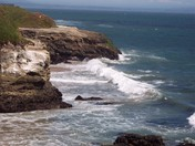 Santa Cruz off of Natural Bridges Beach