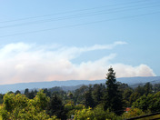 Lockheed Fire from Capitola 3PM