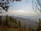View From Big Basin Aug 15th