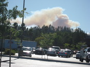 Fire from Scotts Valley