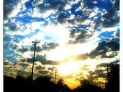 Glorious Friday sunrise