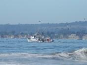 fishingboat near shore