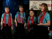 Vocal Point quartet sings Jingle Bells on KSBW-TV Share Your Holiday fundraiser