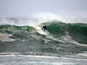 Surfing near Lover's Point 1-20-10