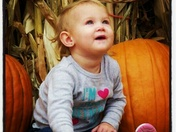 Millie at the Pumpkin Patch :)