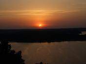 Solar Eclipse on Beaver Lake