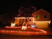 Holiday lights near 176th & 'I' Street