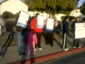 Greenfield Protests Education Cuts