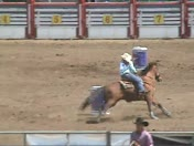 HS Rodeo barrel race