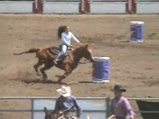 High School Rodeo barrel race
