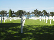 American Cemetery, Colleville sur Mer, Normandy, France