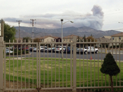 another photo of the Gabilan fire from Alisal High