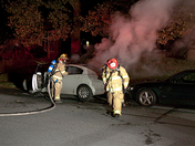 Lanc. Twp. Car Fire