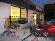 Country Garden Laundromat Crash