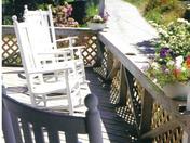 Porch on Monhegan Island, Maine
