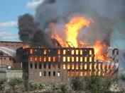 Bates Mill Fire