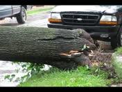 Lewisburg Damage