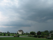 Storm hammering areas east