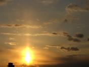 spring sunset over Mohrsville 2