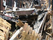 Remains from Chestnut Street fire in York