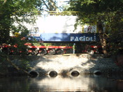 Generators cross Chiques Creek
